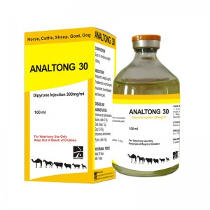 ANALTONG 30 Dipyrone Injection (Analgin Injection) 30%