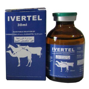 Ivermectin 0.5% + Closantel 12.5% Injection