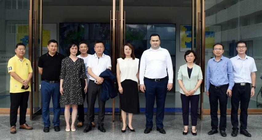 Ambassador of the Republic of Uzbekistan in China  Visit Chongqing Fangtong Animal Pharmaceutical Co., Ltd