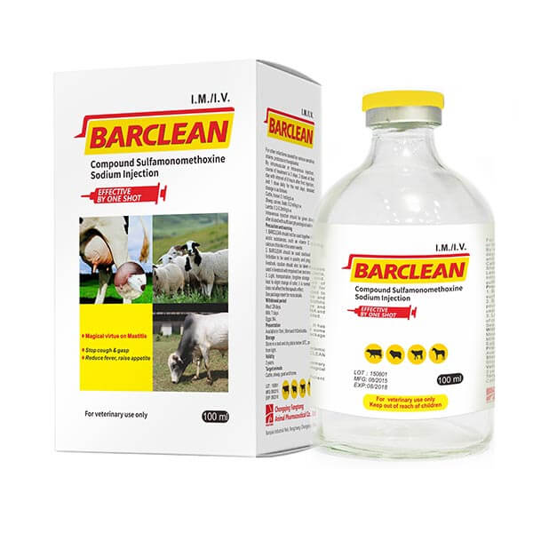 BARCLEAN (Compound Sulfamonomethoxine Sodium Injection) Featured Image
