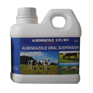 Albendazole oral suspension 2.5%
