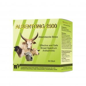 Albendazole bólusz 2500 mg