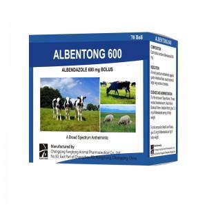 ALBENTONG 600 albendazole bolus 600mg