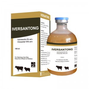 IVERSANTONG Ivermectin2% + Closantel 10% Injection