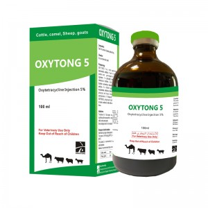 OXYTONG 5 oxytetracycline injection 5%