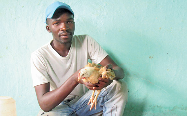 Young poultry farmer thrives despite setbacks