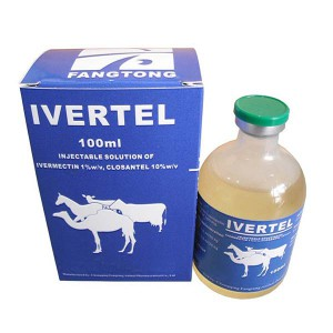 Ivermectin 1% + Closantel 10% ang injection