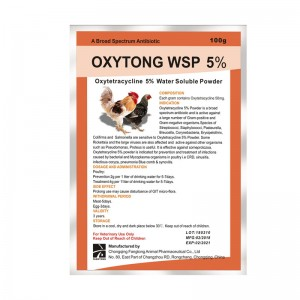 OXYTONG WSP 5% OXYTETRACYCLINE WSP 5%