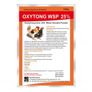 OXYTONG WSP 25%      Oxytetracycline WSP 25%